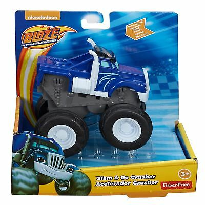 Blaze and the Monster Machines Slam & Go Crusher Toy Truck