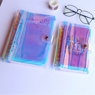 A5/A6/A7 Binder Notebook Ring Weekly Planner Cover Waterproof Dust proof 0.8mm