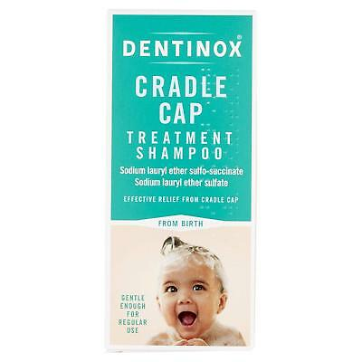 Dentinox Cradle Cap Treatment Shampoo Gentle Baby From Birth 125ml Bottle NEW