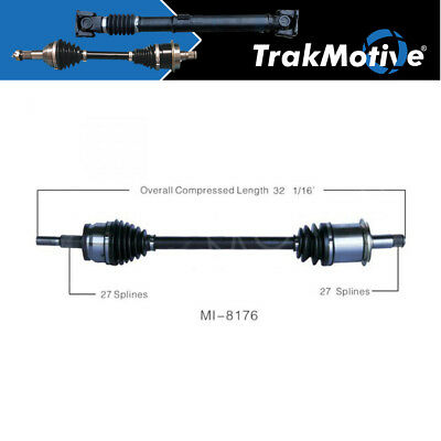 New Front  Left CV Axle For Chrysler 300 Dodge Charger AWD Driver Side MI-8171