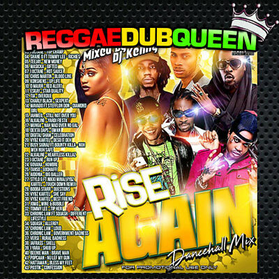 DJ Kenny - Rise Again Dancehall Mixtape. Reggae Mix CD. 2019