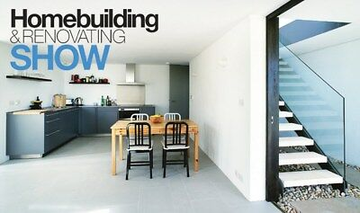2 Tickets - South East Homebuilding & Renovating Show - AOD 19 to 20 January