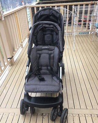 Childcare Double Pram Twin Stroller New born Toddler