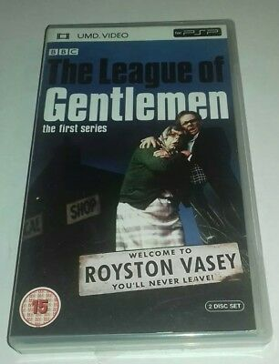 Sony PSP - THE LEAGUE OF GENTLEMEN THE FIRST SERIES ( Season ) 1 * UMD  - 2 disc