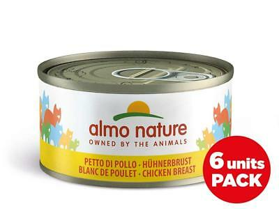 Almo Nature Legend Chat Poulet Poitrine Mega Lot de 6 x 70 g