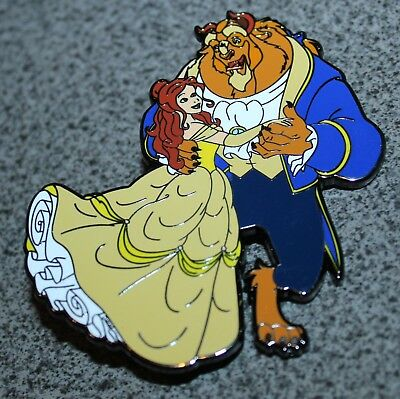 Pin Beauty And The Beast Limited Edition 50 Jumbo Fantasy Wediing Belle Disney
