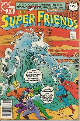 SUPER FIENDS (The) - No. 17 (February 1979) features WONDER WOMAN