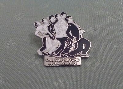 MADNESS ONE STEP BEYOND NUTTY BOYS SKA ENAMEL PIN BADGE 40th ANNIVERSARY ..NEW