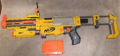 NERF N Strike Recon CS-6 Blaster with Magazine and Laser Sight Tested Works