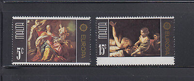 MALTA 1975 Europa Arts  Sc 495-496  complete mint never hinged
