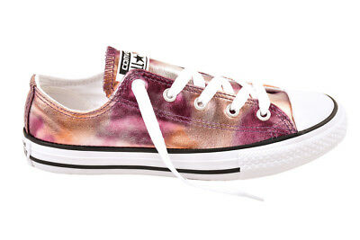 ee5c238cfa12 Converse Unisex Adults New CTAS OX Dusk Pink Trainers Size UK 8 RRP £71  BCF811
