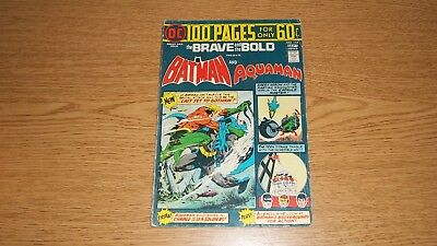 Brave & The Bold Dc Comics #114: Batman & Aquaman Bronze Giant Size 100 Pages