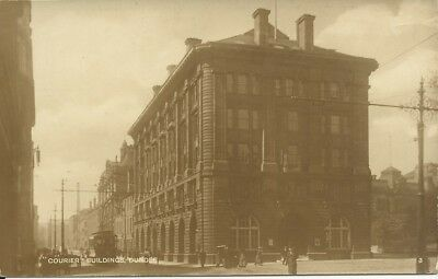 Vintage RP postcard of Courier Buildings, Dundee
