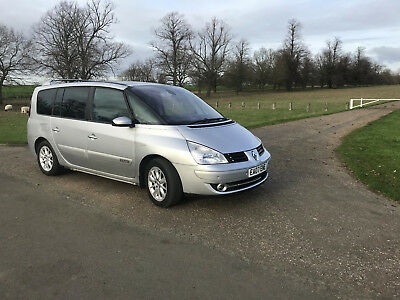 Renault Grand Espace, FULL, DETAILED SERVICE HISTORY, 97k miles, 35+ MPG