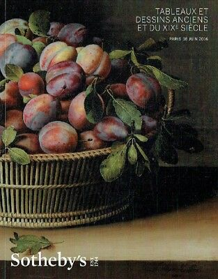 Sothebys June 2016 Old Master & 19th Century Paintings and Drawings