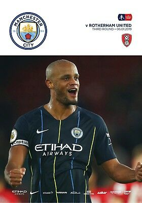 * 2018/19 - MAN CITY v ROTHERHAM UNITED (FA CUP - 6th January 2019) *