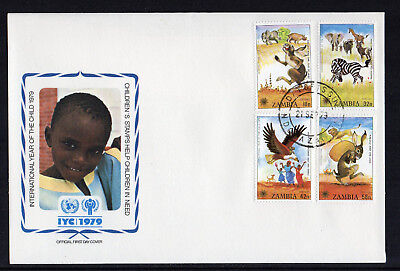 Zambia - 1979,  International Year of the Child FDC