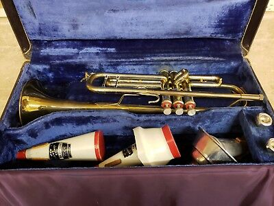 Vintage Bach Stradivarius Trumpet Model 37 Mt. Vernon New York ML