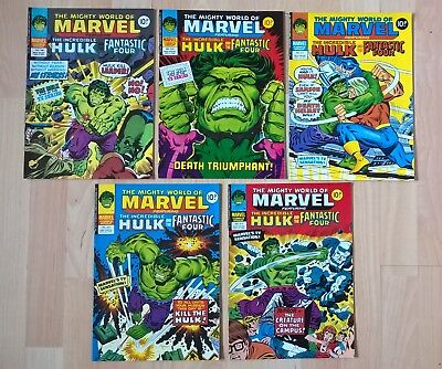 THE MIGHTY WORLD OF MARVEL feat. THE HULK & FANTASTIC FOUR (NEAR MINT)
