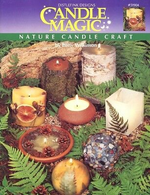 Candle Magic Nature Candle Craft Instruction Leaflet for all types.