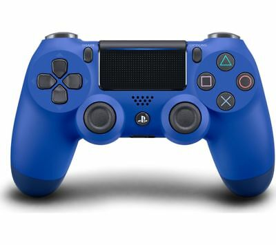 SONY DualShock 4 V2 Wireless Controller - Blue - Currys HEAVILY DAMAGED BOX
