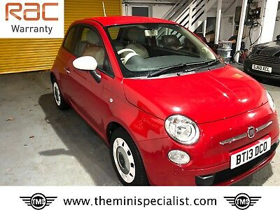 Fiat 500 Colour Therapy model with only 26,270 miles from new