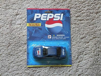 Vintage Die Cast Metal and Plastic 'Pepsi' Car
