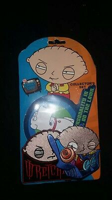 family guy patch collectors set