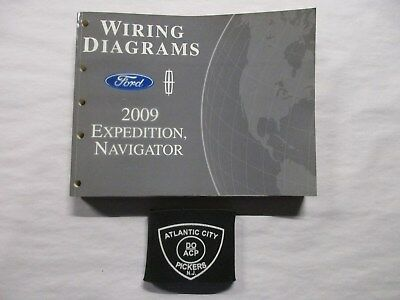 2009 ford expedition lincoln navigator electrical wiring diagrams service  manual