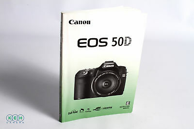 Canon EOS 50D Instruction Manual