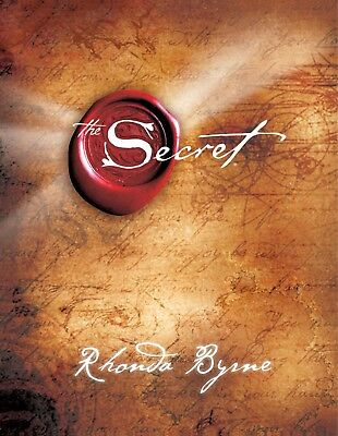 The Secret Hardcover Rhonda Byrne Read Book Change your life positive thinking