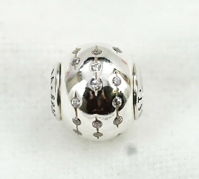 New Authentic Pandora Essence Collection Sterling Silver Trust Charm 796019CZ