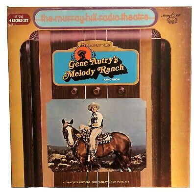 Gene Autry's Melody Ranch 4xLP Box Set Murray Hill Radio Theatre