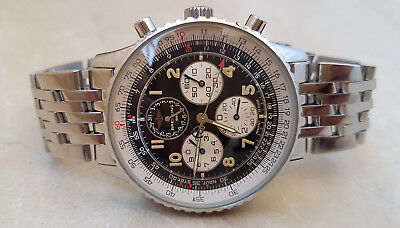 Breitling Navitimer A33030 Airborne Chronograph Steel 38mm Mens Watch Nr