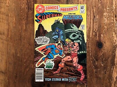 DC Comics Presents #47 1st App He-Man Skeletor - Masters of the Universe 1982 z