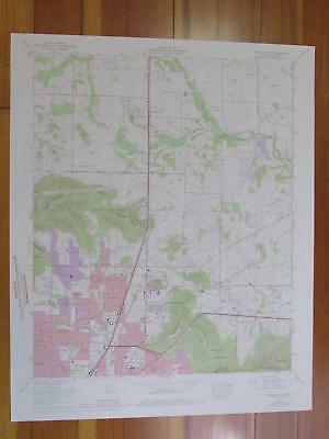 Meridianville Alabama 1976 Original Vintage USGS Topo Map