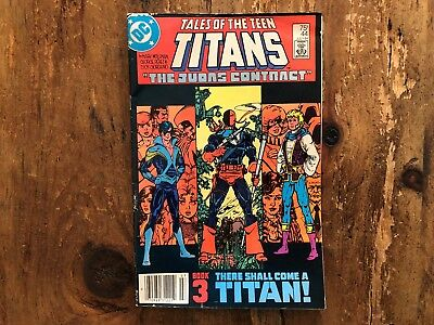 Tales of the Teen Titans #44 (Jul 1984 DC) 1st Appearance Of Nightwing Jericho z