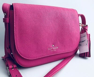 12e4fed08 Kate Spade New York Orchard Street Penelope Cross-Body Bag Tulip pink NWT