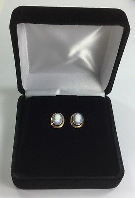Pair of 14K Gold Cameo Earrings – Post Back – Antique or Vintage Estate Jewelry