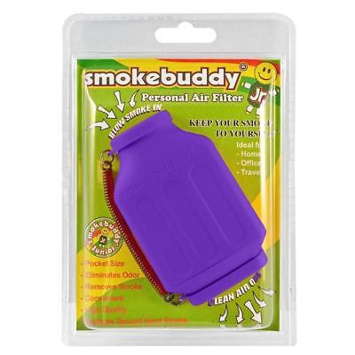 Smoke Buddy Junior Personal Air Purifier Cleaner Filter Removes Odor (Purple)
