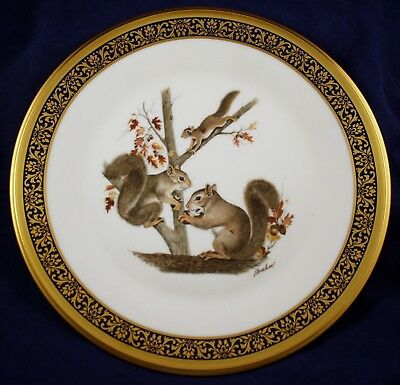 Lenox Boehm SQUIRRELS Woodland Wildlife Series Collector Plate 1979