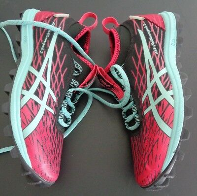 4ae925c6589 ASICS Womens Gel-FujiRunnegade 2 Running Athletic Shoes T683N Size 6.5 Free  Ship