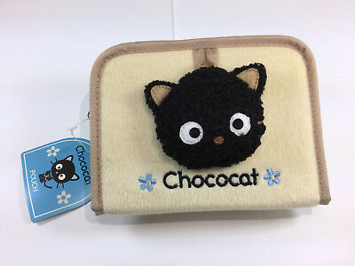 Sanrio Chococat Pouch with mirror, NWT 2000, adult owned, cosmetic pencil case
