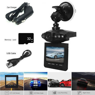US Car Mintiml Recorder Driving Recorder with 32g TF Card HD 1080P Night Vision