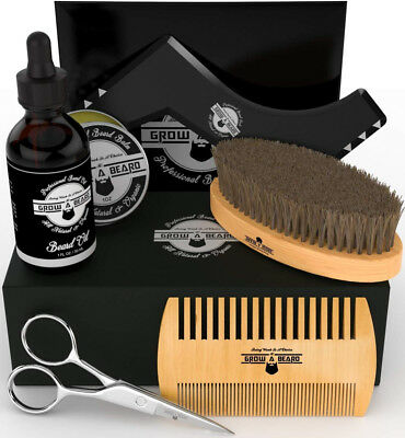 Beard Kit Multi-Functional Grooming Tool | Unique 6-in-1 Mustache and Facial |