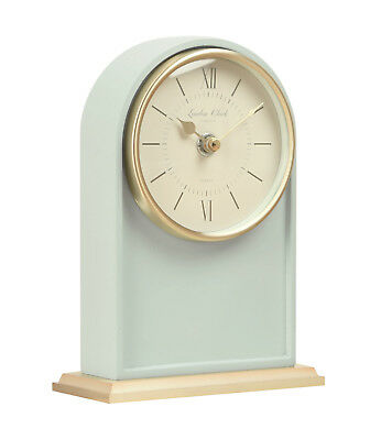 London Company Molly Arch Silent Sweep Mantel Clock 18.5x13cm **FREE DELIVERY**