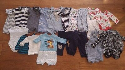 Baby Boys Clothing Bundle - Size 00 (3-6 Months) Used in Excellent Condition