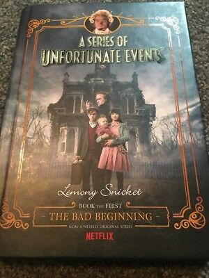 Lemony Snicket A Series Of Unfortunate Events #1 The Bad Beginning Hard Cover