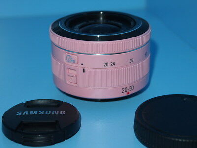 Samsung NX 20-50mm f/3.5-5.6 II ED i-Function Pink Lens, AVIA w/tracking