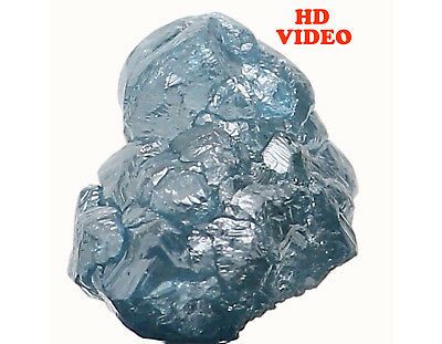 Natural Loose Diamond Rough Blue Color I3 Clarity 6.10 MM 1.06 Ct KR889